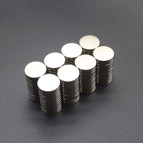 powerful Neodymium magnets 10Pcs 5x1 6x3 8x3 10x1 10x2 12x2 mm