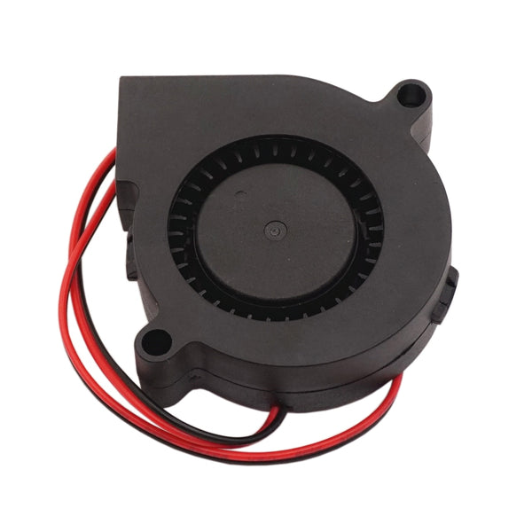 Blower Fan 12V 24V 50mm Turbine Turbo Fan 50x15mm 5015 DC Brushless Cooling Dual Ball Bearing for 3D Printer Extruder MK7 MK8