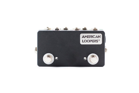 2CH With Loop Insert Mini True Bypass Looper With PREMIUM Switches