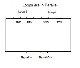 2 Loops In Parallel Without Switch Junction Box