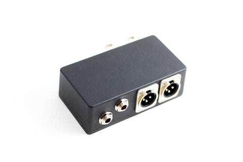 4 Way Junction Box With Two XLR Connectors and Two Mono Connectors