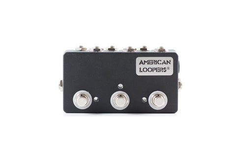 3CH Mini True Bypass Looper With PREMIUM Switches - Three (3) Loops