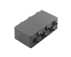 6 Way Junction Box With Isolated Jacks Pedalboard Patchbay,Junction Box- AMERICAN LOOPERS - MADE IN USA