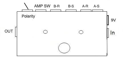 A/B Loop Selector With Amp Channel Switcher (Clean Dirty Effects Switcher)Plus Polarity Switch
