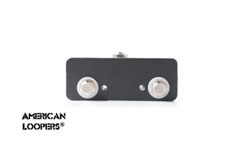 American Loopers Aux Switch With LEDs For RJM PBC 6 PBC 10 (2 click less buttons)