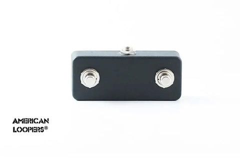 Aux Switch For RJM MasterMind PBC Looper - Click-Less Two Button