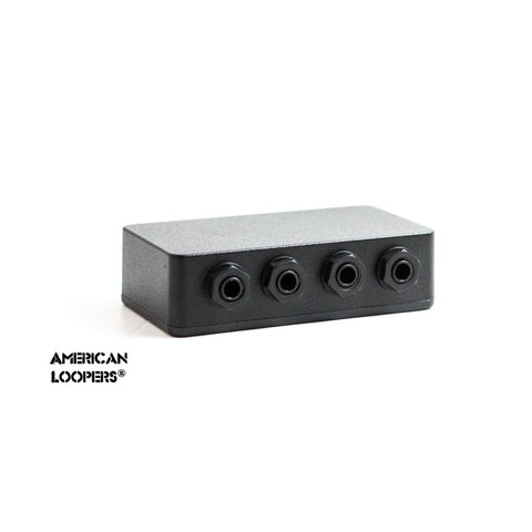 Pedal Audition Junction Box (With Auto Reroute) for your Pedalboard With Isolated Jacks