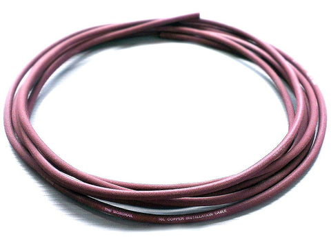 Evidence Audio 10 Feet Monorail High End Pedalboard Patch Cable (Burgundy Red)