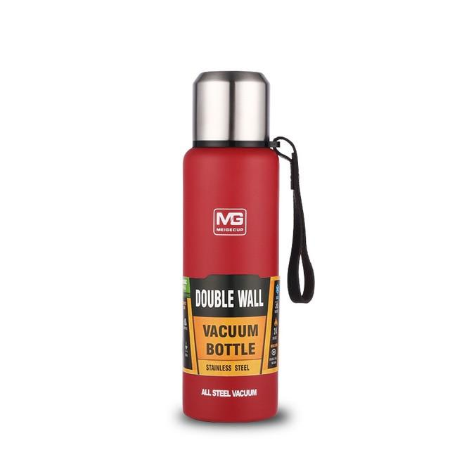 Bouteille Isotherme <br> Inox Rouge 750ml