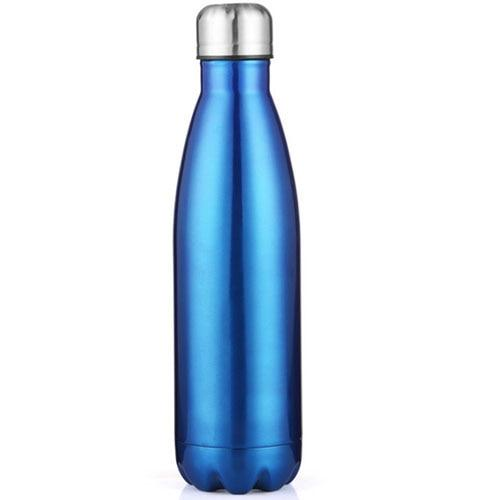 Bouteille Isotherme <br> Inox Blue