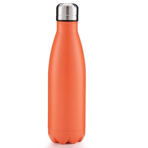Bouteille Isotherme <br> Inox Orange