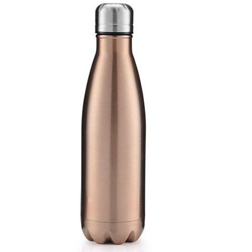 Bouteille Isotherme <br> Inox Gold