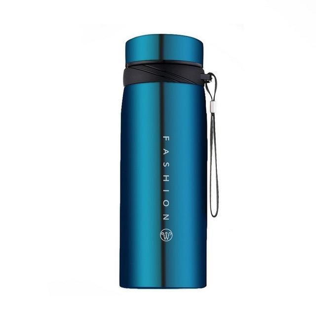 Bouteille Isotherme <br> Inox Bleue 650ml