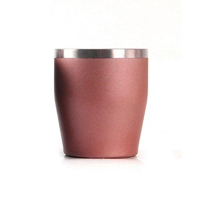 Mug Café <br> Inox Rouge 300ml