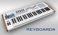 Keyboards, Synths and Workstations from Arturia, Yamaha, Casio and more!