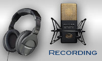 Recording gear for your studio!