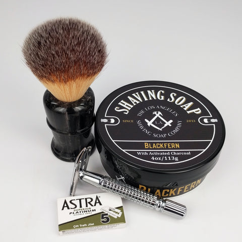 Brush, Razor, and Beginner Kit