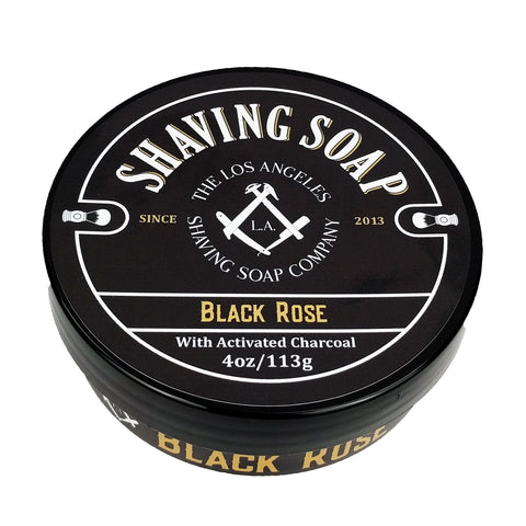 The Black Rose Shaving Soap