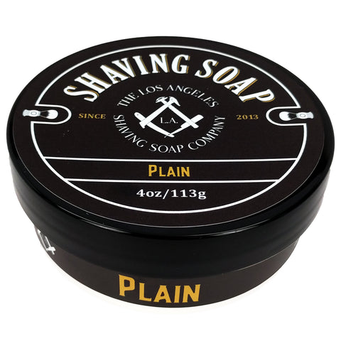 Plain Shaving Soap