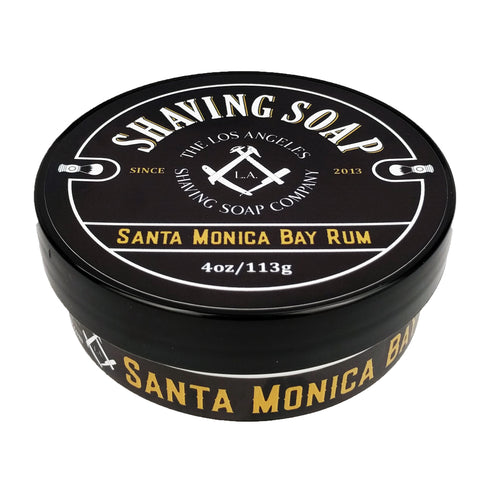 Santa Monica Bay Rum Shaving Soap