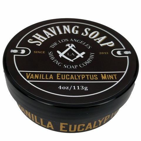 Vanilla/Eucalyptus/Mint Shaving Soap