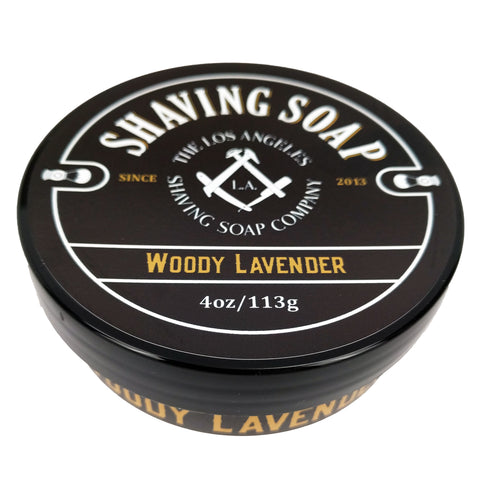 Woody Lavender Shaving Soap