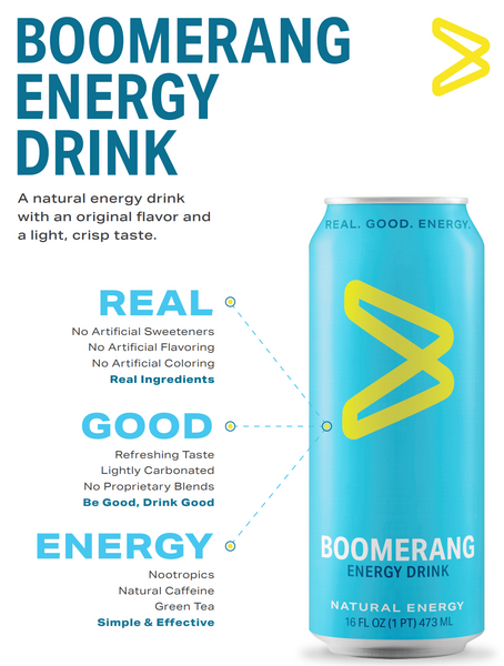Boomerang Energy Drink