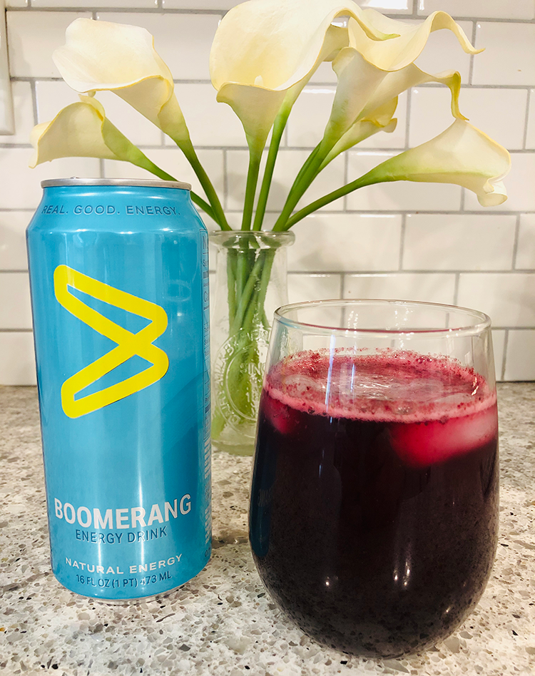 Boomberry Ginger Cooler