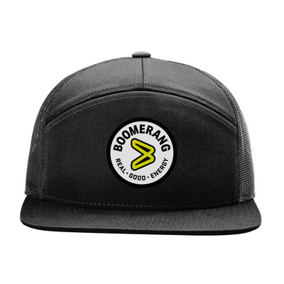 Boomerang Patch Trucker Flat Brim
