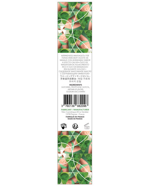 Exsens Of Paris Warming Massage Oil - Mint Mojito