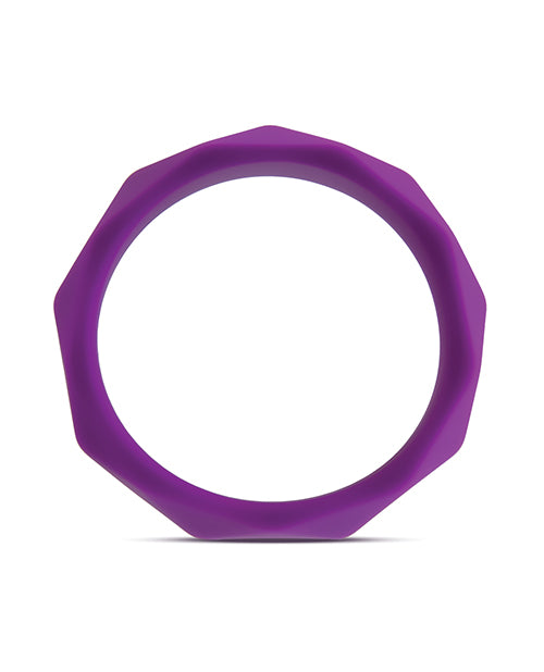 Blush Wellness Geo C Ring - Purple