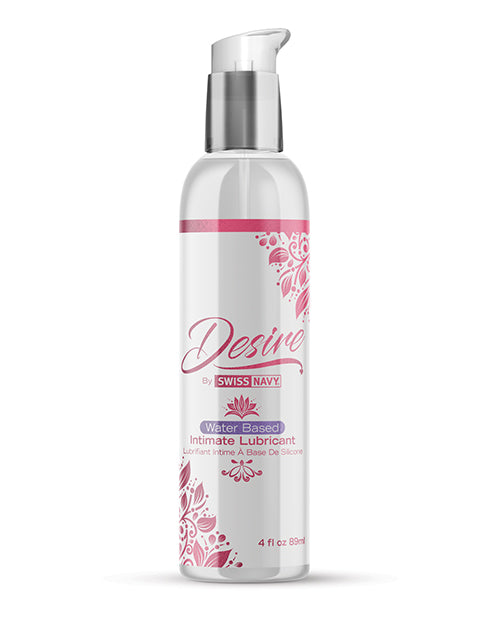 Swiss Navy Desire Water Based Intimate Lubricant - 4 Oz