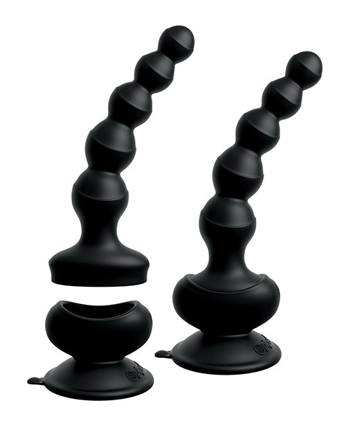 Threesome Wall Banger Beads - Black