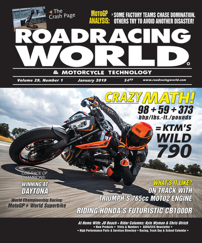 2019 Roadracing World & Motorcycle Technology Back Issues