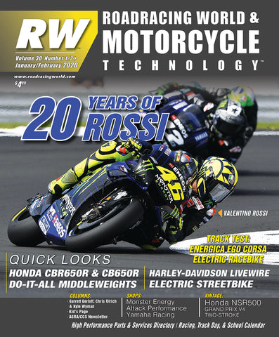 2020 Roadracing World & Motorcycle Technology Back Issues