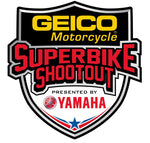 GEICO Motorcycle Superbike Shootout Presented By Yamaha Sticker