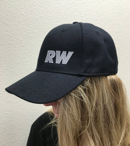RW Black Flex Fit Cap