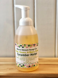 Cucumber Melon Body Shower & Shave Foam