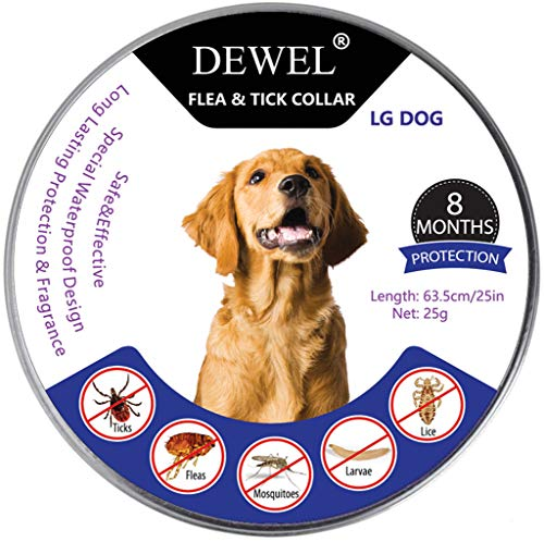 DEWEL 8 Months Flea & Tick Collar (Full Set)