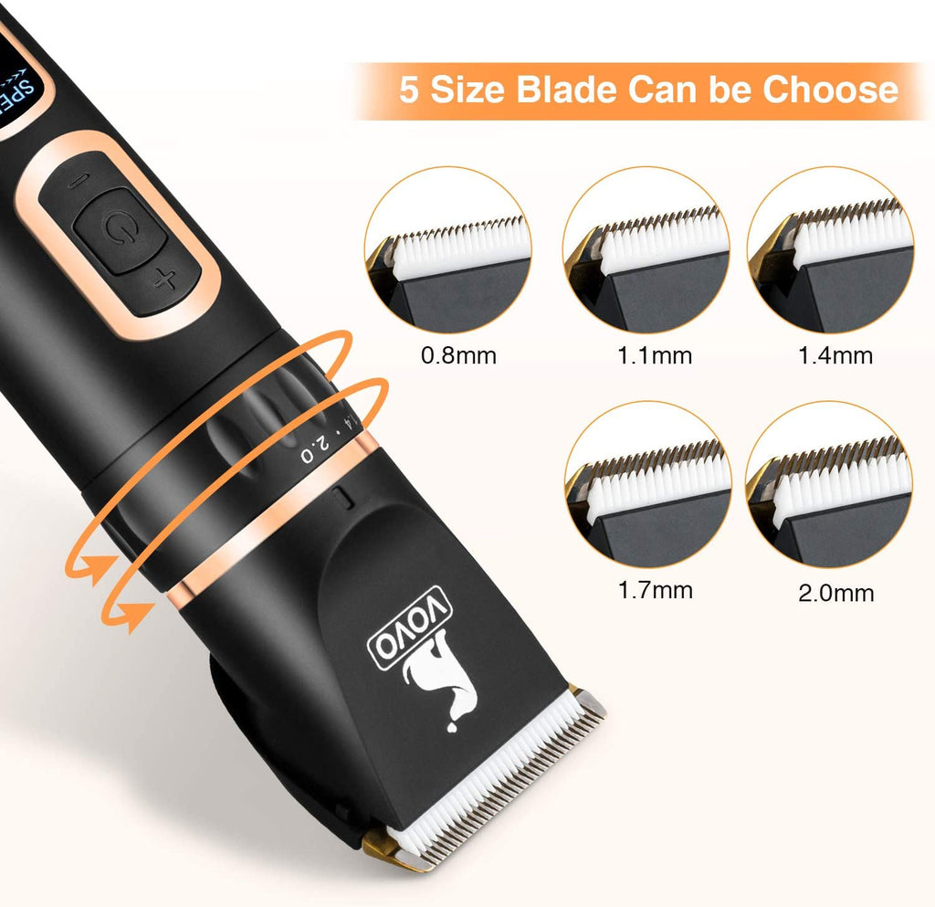 VoVo® Dog Hair Clipper (Full Set)