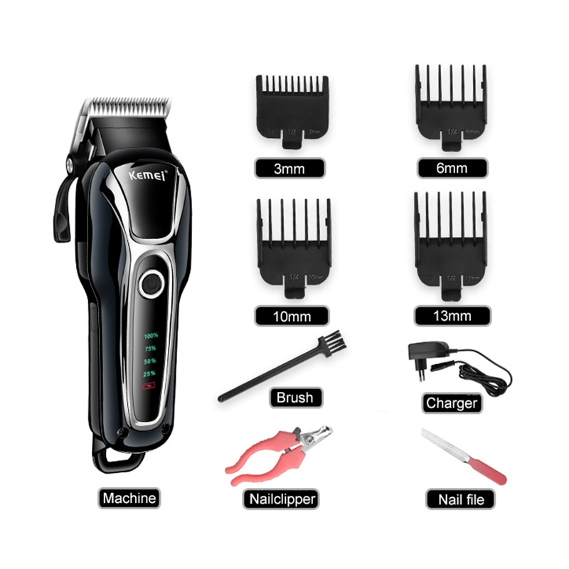 Kemei® Dog Hair Clipper (Full Set)