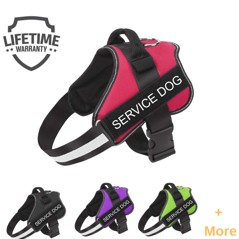 New PawRoll™ No Pull Service Dog Harness