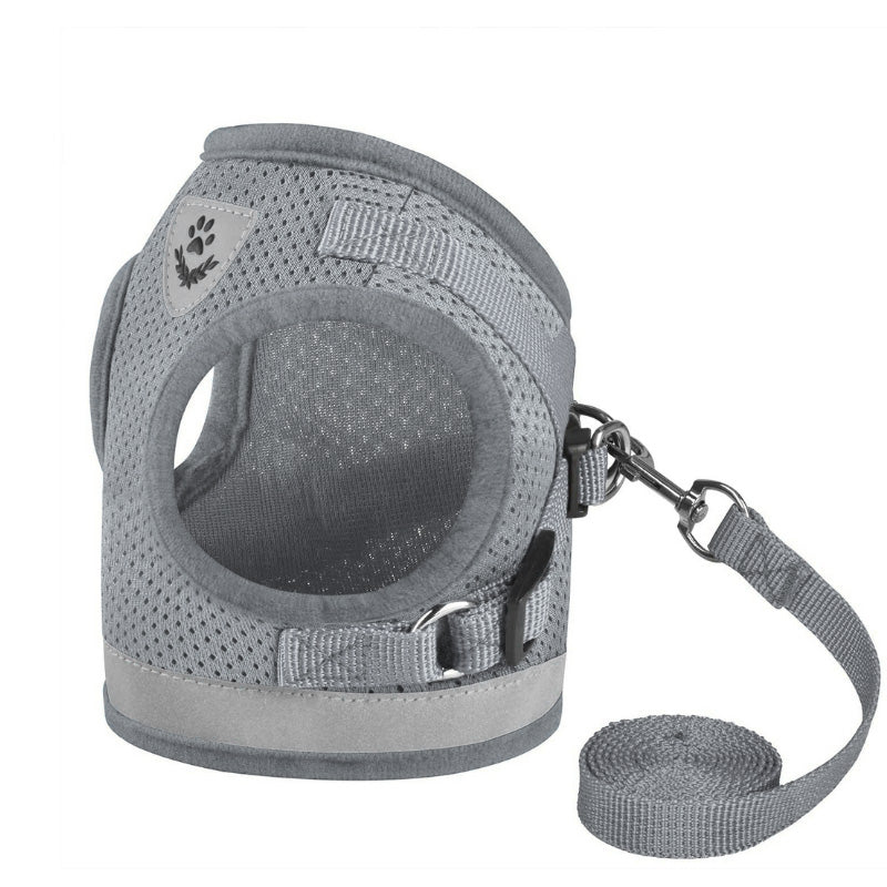 PawRoll Pet Harness With Least Set