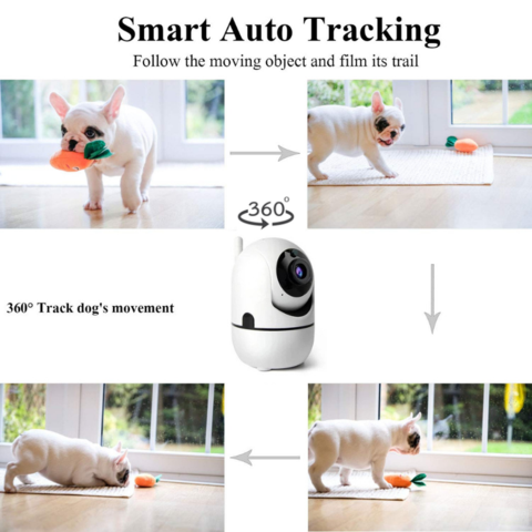 PawRoll™ Wireless 1080P Pet Monitor Camera