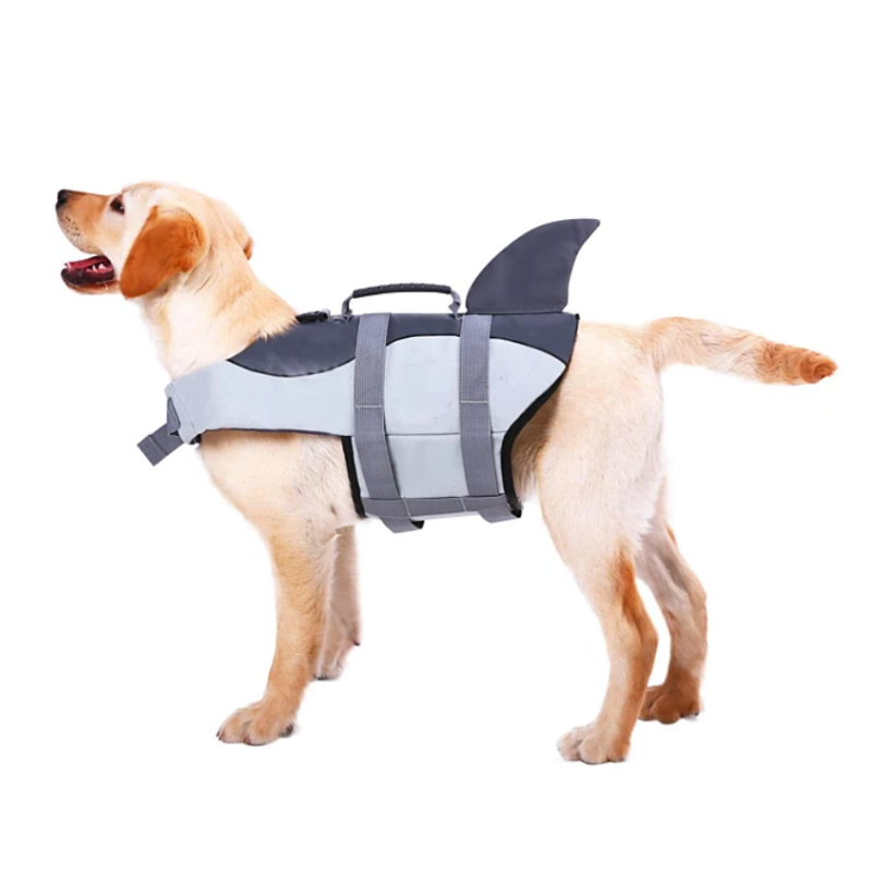 Fur-Swimming Dog Life Vest