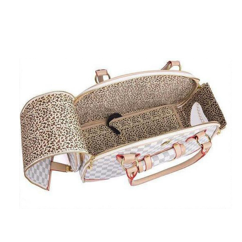 Parisian Designer Luxury Dog Carrier