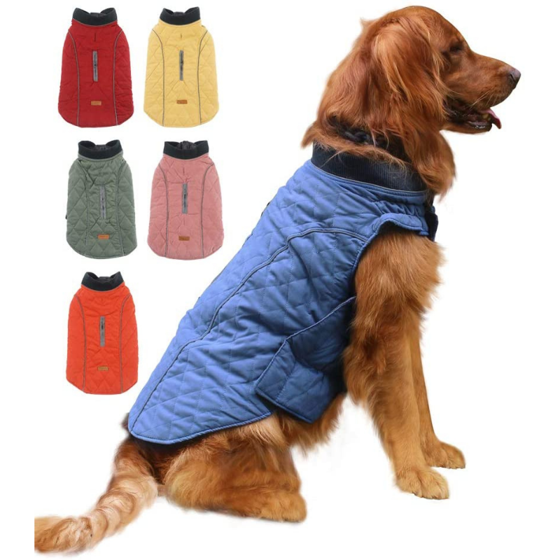 All-Purpose Reflective Quilted Dog Jacket
