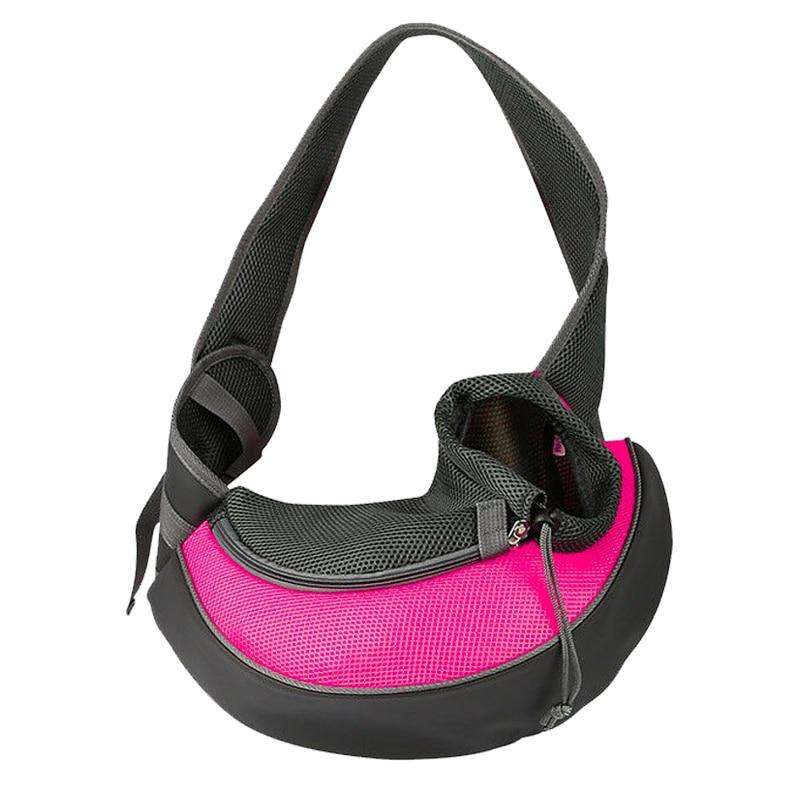Fashion Small Puppy Carrier-Paw Roll,Pink / S (Up to 7 lbs)