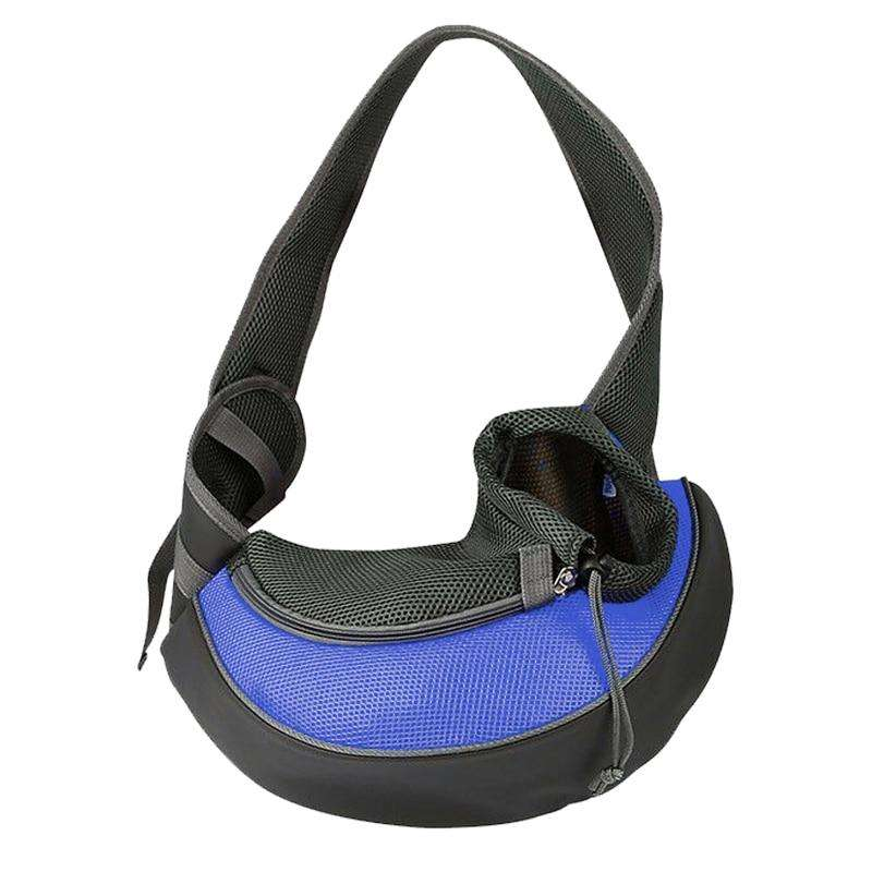 Fashion Small Puppy Carrier-Paw Roll,Blue / S (Up to 7 lbs)
