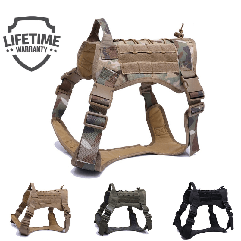 M12™ Military Harness-Paw Roll